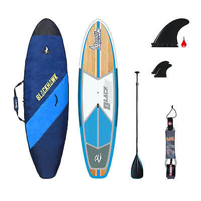 "Blackhawk 2017 New 10'6"" Bondihawk Hybrid All Rounder Sup Stand Up Board Package"