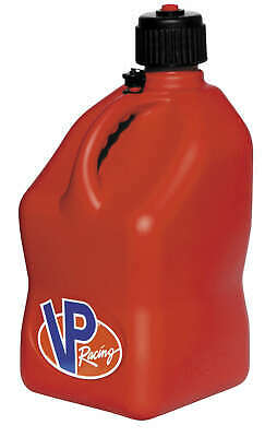 VP Racing Red Square Gas Jerry Can Fuel Jug Off Road Track or Street Use
