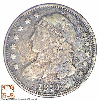 1831 Capped Bust Dime *XB07