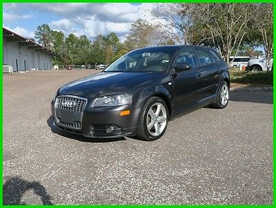 2008 Audi A3 3.2 AWD S LINE LOADED NO RESERVE 2008 AUDI A3 AWD 3.2 S LINE PANO ROOF HEATED LTHR AT BOSE XM XENON NEW TIRES