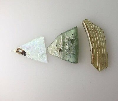 ancient Roman Glass Holy Land JUDAEA Archaeology 4.85 grams