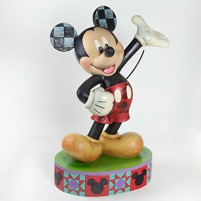 Mickey Mouse Extra Large Jim Shore DISNEY TRADITIONS Figurine NEW 4037509