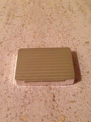 TIFFANY&CO Sterling Silver Snuff pill Box VINTAGE w/ Pouch Georg Jensen Made