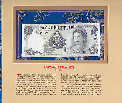 Most Treasured Banknotes Cayman Is. 1974 $1 P5a GEM UNC Replacement Z/1 Johnson