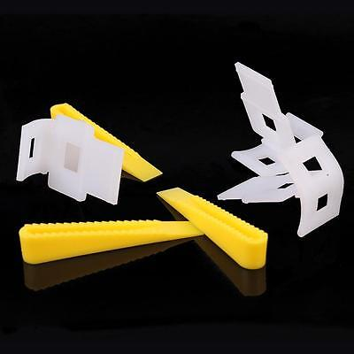 New 700 Tile Leveling System With 500 Clips + 200 Wedges Tile Leveler Spacers