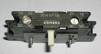 Siemens,  Auxiliary Contact Block,  3Ty6501-1A