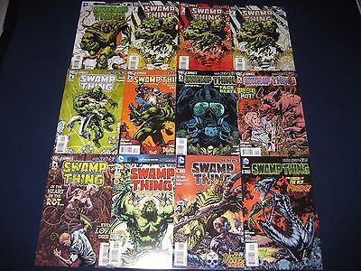 Swamp Thing 0-40, 23.1 Annuals 1-3 & Futures End 1 New 52 Comic Lot