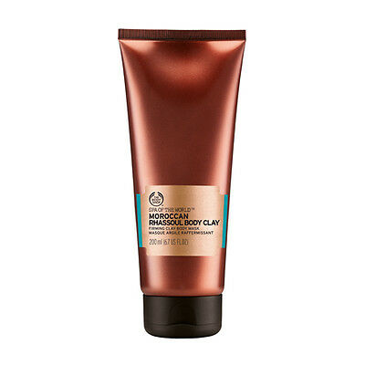 New Vegetarian The Body Shop Body Clay Moroccan Rhassoul Mask Firming