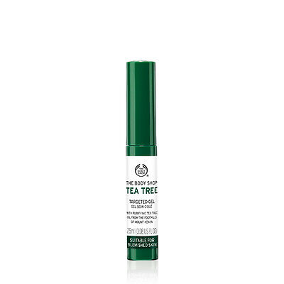 New Vegetarian The Body Shop Facial Cleanser Cleansing Gel Tea Tree Extract