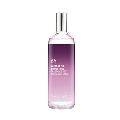 New Vegetarian The Body Shop Fragrance Body Mist White Musk Smoky Rose Scent Flo