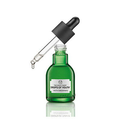 New Vegan/Vegetarian The Body Shop Skin Revitalizer Concentrate Drops of Youth