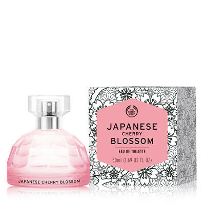 New The Body Shop Japanese Cherry Blossom Eau De Toilette