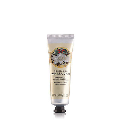 New The Body Shop Vanilla Chai Hand Cream