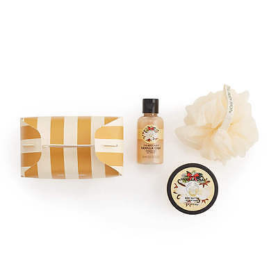 New The Body Shop Vanilla Chai Treat Box