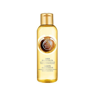 New Vegetarian The Body Shop Beautifying Oil Body Moisturizer Hair Treatment She