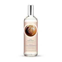 New Vegetarian The Body Shop Body Mist Spray Shea Butter Scent Light and Fresh
