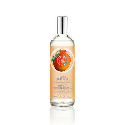 New Vegetarian The Body Shop Body Mist Spray Mango Scent Light and Fresh