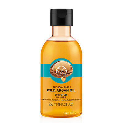 New Vegetarian The Body Shop Shower Gel Organic Wild Argan Oil Soap-Free