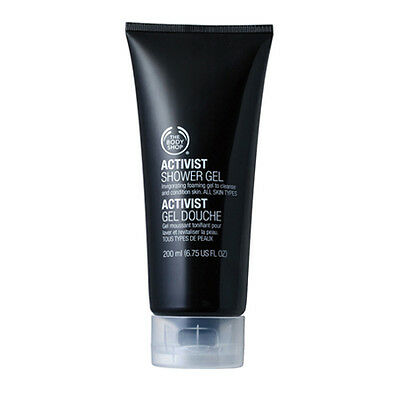 New Vegetarian The Body Shop Mens Shower Gel Activist Soap Free