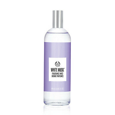 New Vegetarian The Body Shop Fragrance Body Mist White Musk Scent Portable Bottl