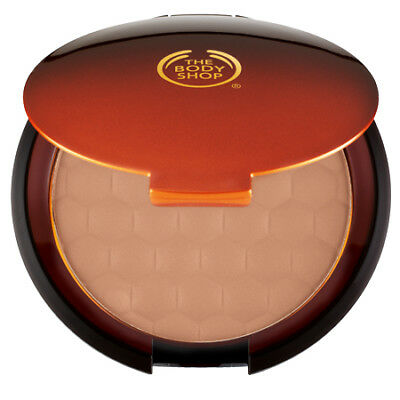 New Vegetarian The Body Shop Bronzer Bronzing Face Powder Compact Glow