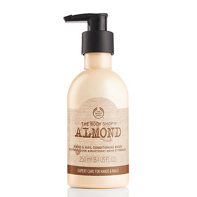 New Vegetarian The Body Shop Hand and Nail Conditioning Wash Almond Oil
