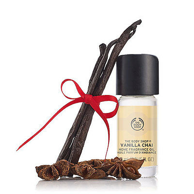 New The Body Shop Vanilla Chai Home Fragrance Oil
