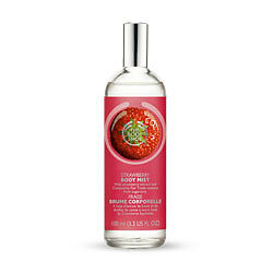 New Vegetarian The Body Shop Body Mist Spray Strawberry Scent Light and Fresh