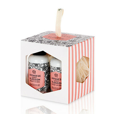 New Vegetarian The Body Shop Gifts Gift Set Box Japanese Cherry Blossom Collecti