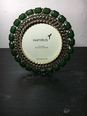Picture Frame Round With Gems
