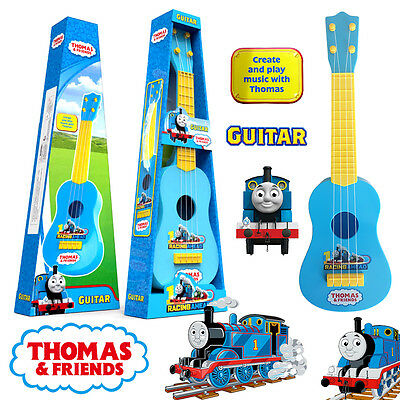 55Cm Thomas The Tank & Friends Musical Instrument Guitar Play Toy Kid Set