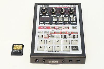 BOSS SP-303 Roland Dr. Sample Sampler Looper w/ Smart Media World Ship