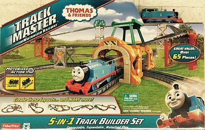 Thomas Tank Engine & Friends TrackMaster 5-in-1 5 in 1 Track Builder Set - NEW