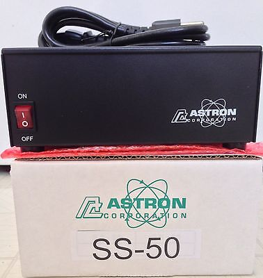 Astron Power Supply Ss-50. 13.8Vdc 50A. Brand New With Warranty