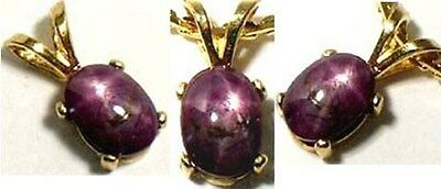 18thC Antique 1 1/3ct Star Ruby Medieval Shaman Divination Prophecy Amulet 14kt