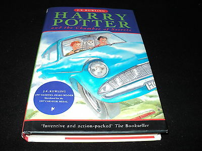 Harry Potter and the chamber of secrets by J. K. Rowling hardback 1st print