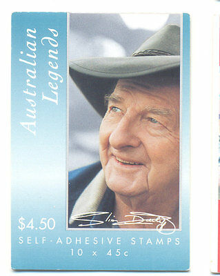 Australia-Music-Slim Dusty Country music legend complete booklet mnh