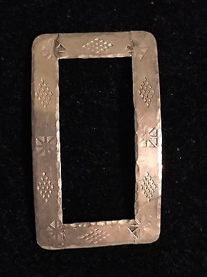 Sterling Silver Scarf Clip