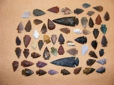 50+ Arrowhead collection Part of Huge Texas Estate stone flint bs-art 1-2000