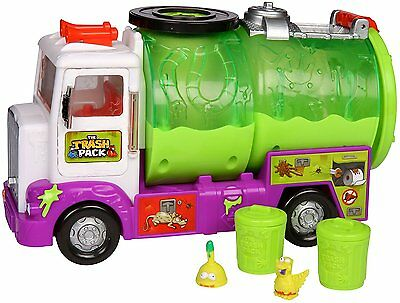 NEW The Trash Pack Sewer Truck  with two extra trashes Zombies Moose GPH01726/GR