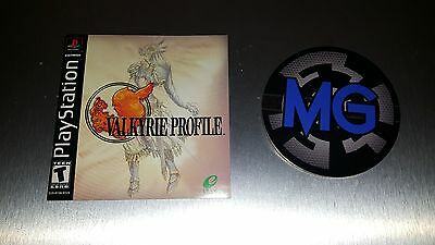 Valkyrie Profile ☆☆ Official Manual Only ☆☆ - PS1 Playstation 1