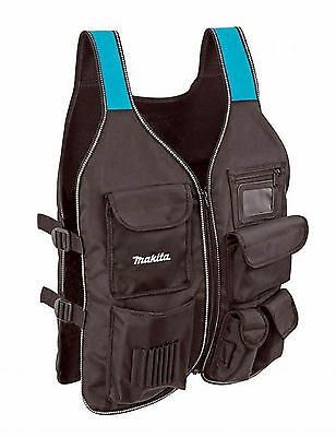 Makita P-72089 Worker's Tool Vest for Carpenters Brand NEW Universal Size
