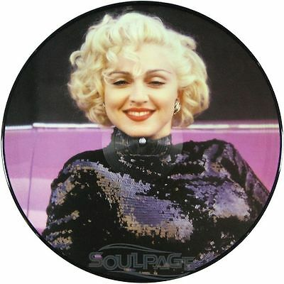 """Madonna - Turn Up The Radio Part 1 - 12"""" Picture Disc NEU"""