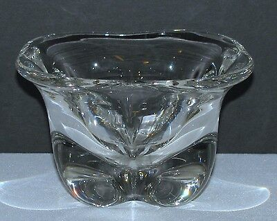 Contemporary Heavy Glass Candy Bowl