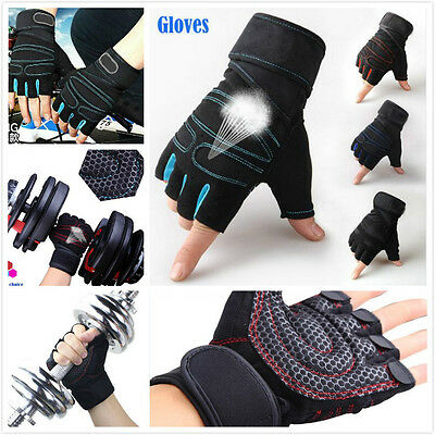 Gym Body Building Training Fitness Gloves Sports Weight Lifting Exercise Cycling
