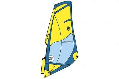 802293 T-Rex Windsurf Sail Steel - Shipping Europe Free