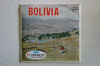 Viewmaster Reel B082 Bolivia