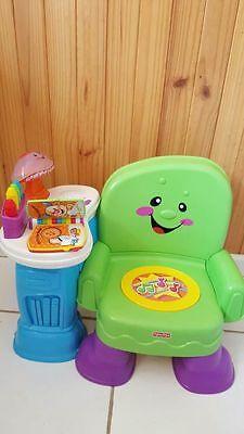 Fisher Price Laugh Learn Music Chair - Excellent condition