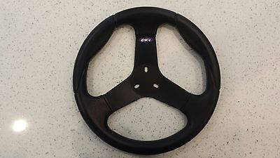 Oke Premium Go Kart Round Steering Wheel 300mm Diameter