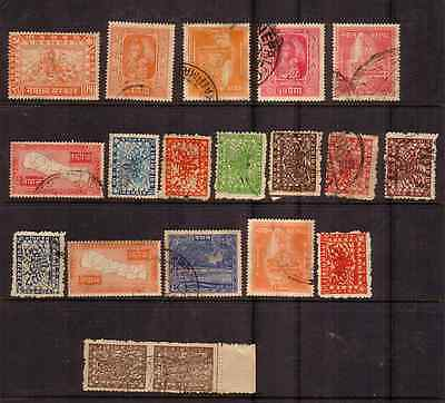 Nepal.....small Collection Of Old Stamps
